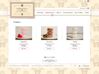 Shop online for French macaroons manufacturer. - wykonane przez VisualTeam.pl