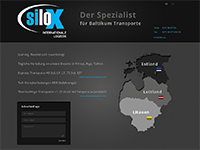 Silox Baltikum Internationale Logistics - wykonane przez VisualTeam.pl
